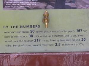 Über 3/4 der Flaschen in den USA landen immer noch auf Mülldeponien